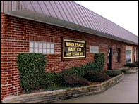 Wholesale Bait headquarters in Hamilton, Ohio